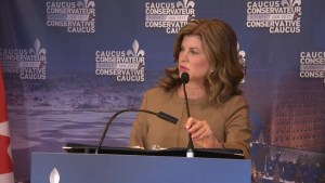Rona Ambrose says jobs are lost to Mexico because Canada is uncompetitive