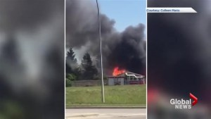Okotoks home destroyed by fire