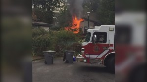 House fire on Musqueam reserve lands