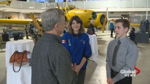 16-year-old Calgarian moves closer to his dream of becoming an astronaut