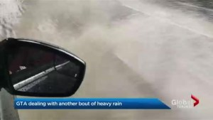 Heavy rain washes through the GTA, more flooding expected