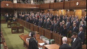 O Canada rings out as House resumes in Ottawa