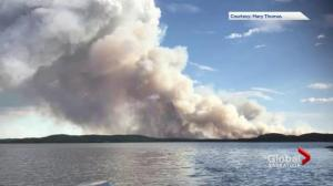 Wildfire smoke forces evacuation of Southend, Sask.