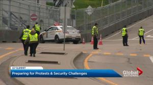 Preparing for protests and security challenges at the G7