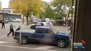 Saskatoon police say they had no choice but to shoot a man who fired shots at officers