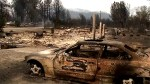 Burned out cars, destroyed homes left in wake of California wildfires