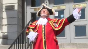 Kingston's town crier celebrates 35th anniversary