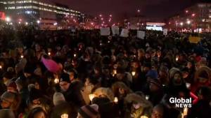Montrealers organize vigil for Quebec City mosque shooting