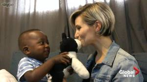 'We just want to be home': B.C mom and newly adopted son stranded in West Africa
