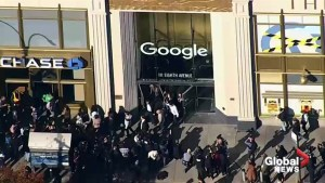 Google employees stage mass walk out to protest office harassment, inequality