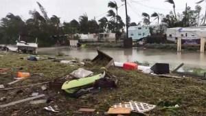 Irma leaves trail of debris and destruction in Florida Keys