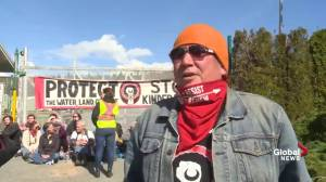 Kinder Morgan protesters discuss why they're taking action against pipeline