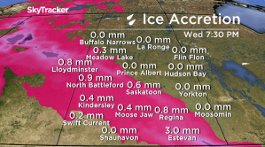 Saskatoon weather outlook: freezing rain, snow to create icy roads