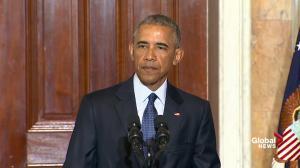 President Obama slams those demanding he use the phrase 'radical Islam' to describe Orlando shooter