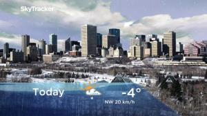 Edmonton early morning weather forecast: Monday, December 3, 2018