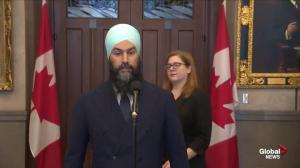 Singh: If Trudeau has nothing to hide, why won't he let Philpott speak?