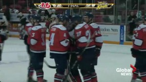 Hurricanes just 1 win away from WHL Eastern Conference Final after 7-4 win in Brandon