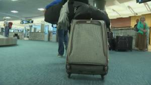 Stolen luggage warning at YVR