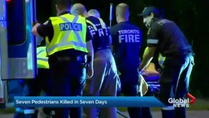 2 more pedestrians have been killed on the streets of Toronto