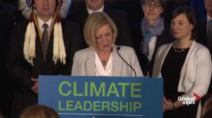 Notley: Alberta putting a price on energy