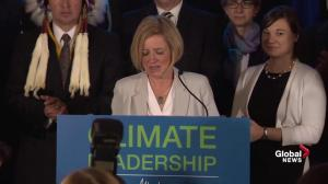 Notley: Oil sands emission limit