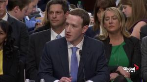 Zuckerberg says making sure no one interferes with 2018 elections is priority