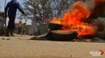 Violent protests break out in Nairobi's Kibera neighbourhood