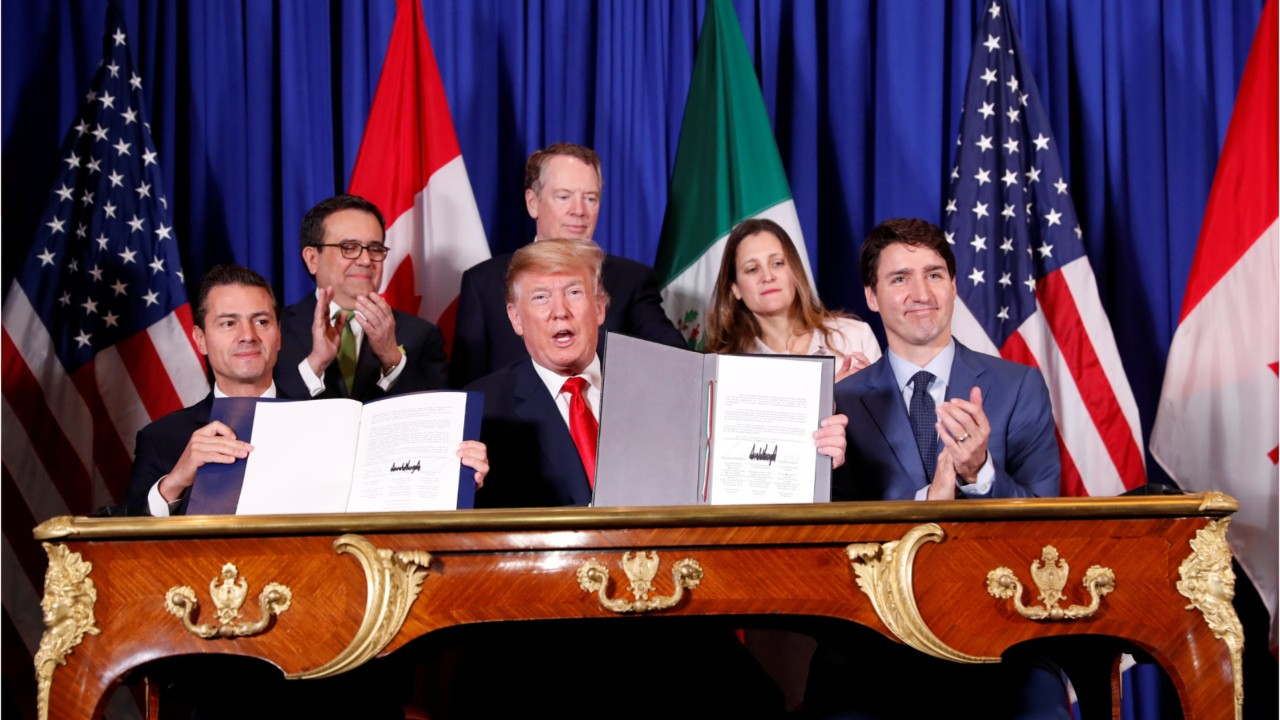 NRF Welcomes Signing of NAFTA Update, Urges Approval by Congress