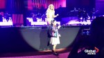 7-year-old girl performs song and wows crowd during Celine Dion concert