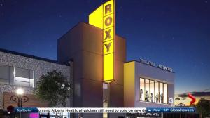 Alberta government funding for Roxy Theatre rebuild a 'turning point'