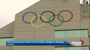 Finance minister not happy with federal money for 2026 Calgary Olympic bid