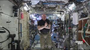 Astronaut Scott Kelly explains life in space verses life on Earth