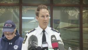 Firefighter sent to hospital as a result of Burns Bog fire (01:38)