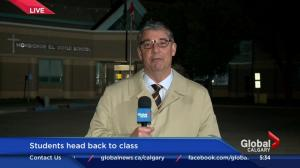 Students head back to Calgary Catholic schools