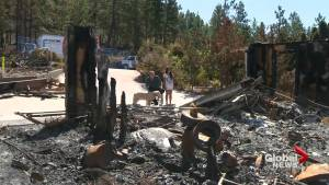 Okanagan couple share heart wrenching story of losing home to a wildfire