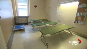 Temporary homeless shelters opens its doors in Montreal
