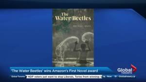 Author Michael Kaan on winning Amazon's First Novel award