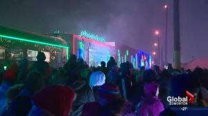 CP Holiday Train rolls into ice-cold Edmonton