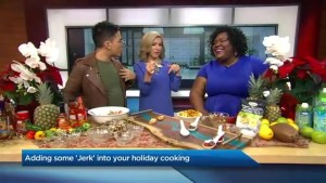 Adding a little Caribbean Jerk flavour  to your holiday meal
