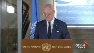 U.N. fears chemical weapons in Syria battle with '10,000 terrorists'