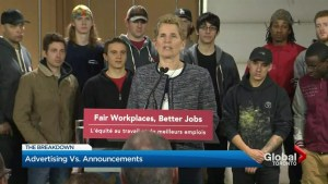 Ontario PC Party says Kathleen Wynne is campaigning using public funds