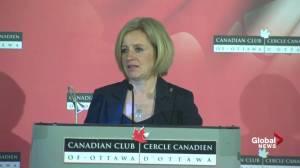 2,000 Albertans protesting Justin Trudeau grew organically: Notley
