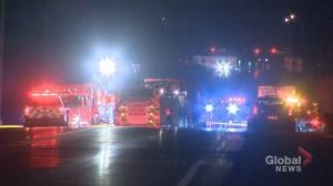 Caledon man killed after head-on collision (00:30)