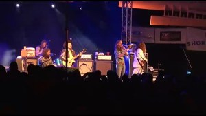 The Sheepdogs perform at Peterborough Musicfest