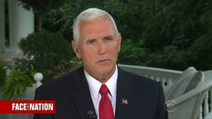 Mike Pence '100 per cent' sure NYT op-ed author not on his staff