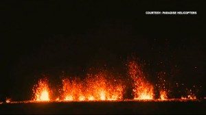Lava and ash spew from Hawaii's Kilauea volcano on day 12 of eruption in captivating video