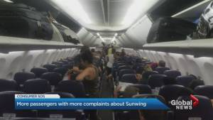 Sunwing airline complaints growing