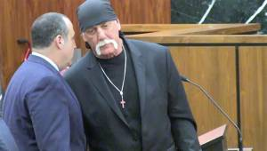Hulk Hogan in courtroom for opening statements in lawsuit against Gawker