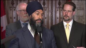 Singh blames Trudeau's 'broken promises' for BC/Alberta spat