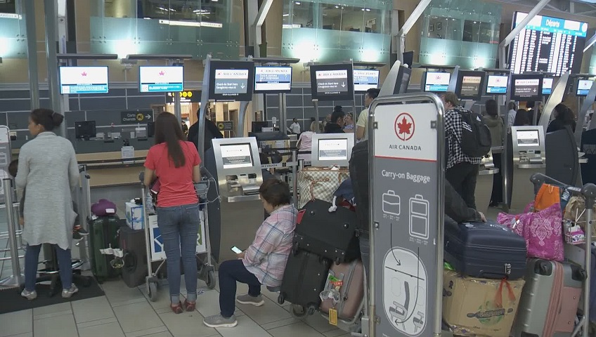Computer technical issue affecting Air Canada passengers